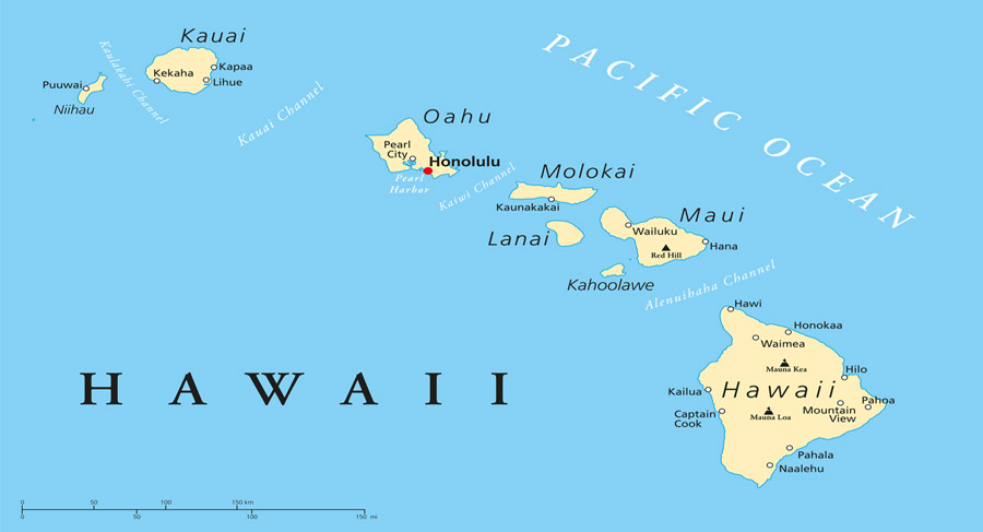 Hawaii Hat Island