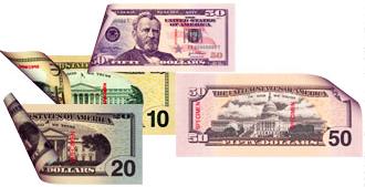 Amerika Reisebüro Bargeld
